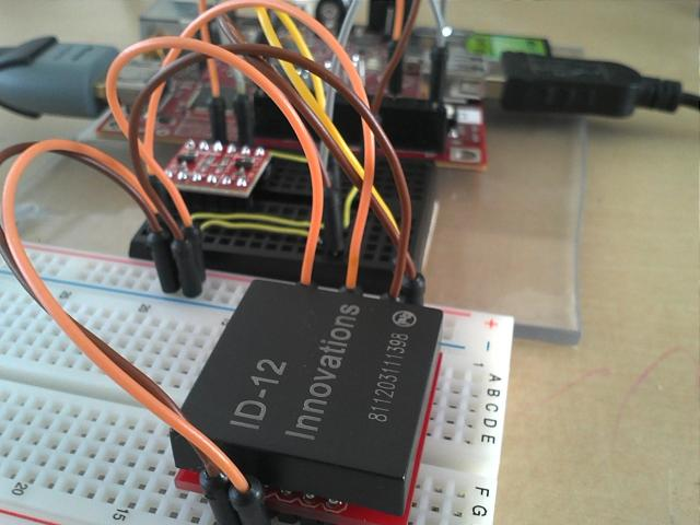 BeagleBoard talking to RFID reader ID-12
