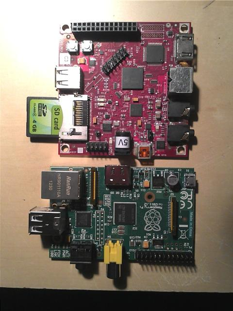 BeagleBoard and Raspberry Pi