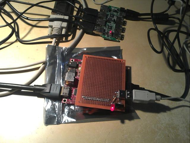 BeagleBoard minicomputer expansion board