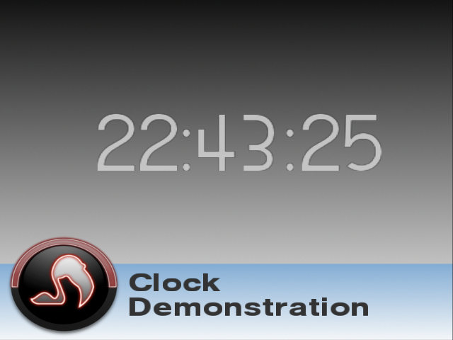 Cracking Egg Clock Demo