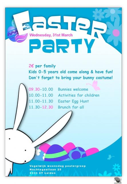 let's party in Easter!