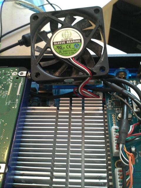 Fiono 330 Fan. Bottom side