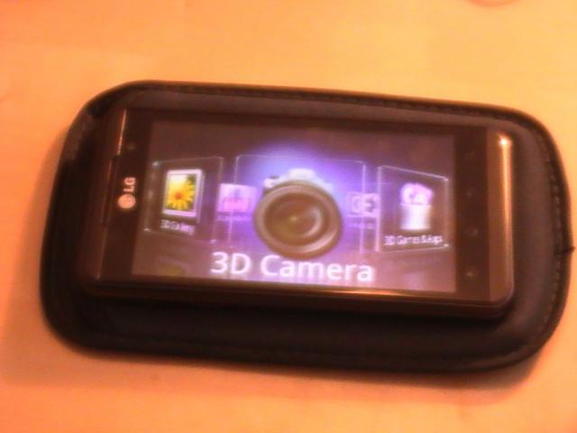 LG 3D Menu