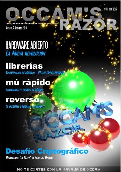 Occam's Razor Num 05 Cover