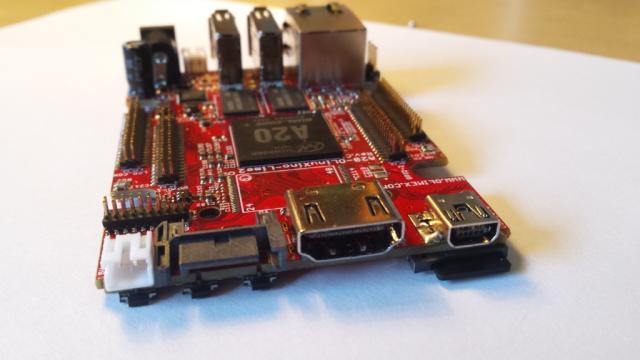 OlinuXino LIME 2 Connectors (HDMI, SATA, USB OTG)