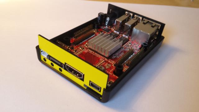 OlinuXino LIME 2 Box and A20 radiator