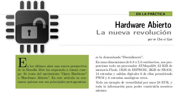 artículo hardware abierto