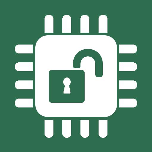 open hardware logo inverse