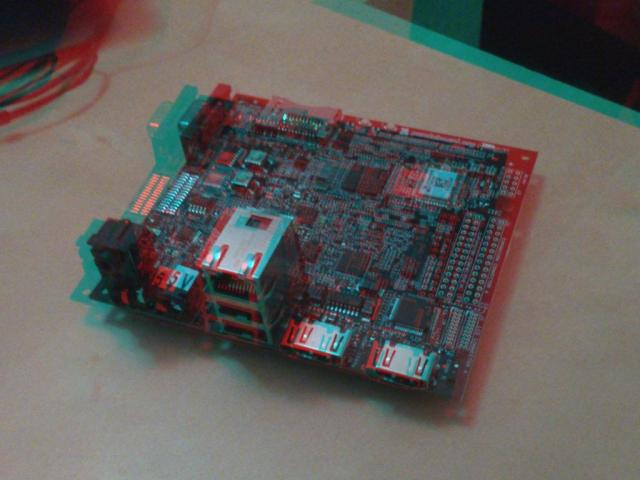 Pandaboard 01 (Anaglyph)