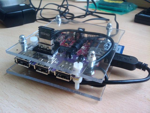 picoFlamingo case for Beagleboard 1