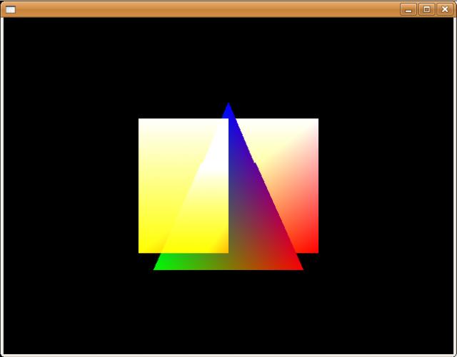 picoFlamingo OpenGL ES Test 1