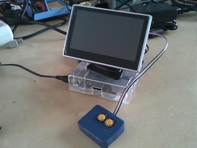 picoFlamingo Mini Presentations with Raspberry Pi