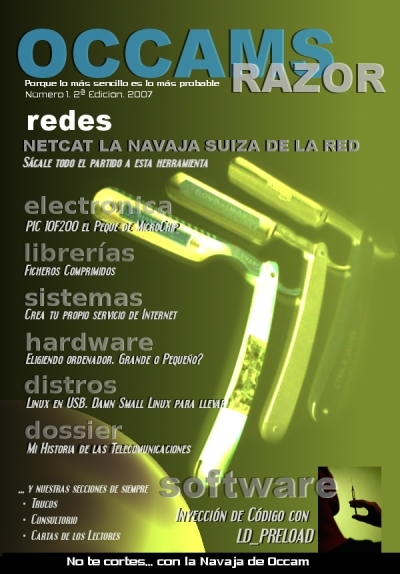 Occam's Razor Num 01 Cover