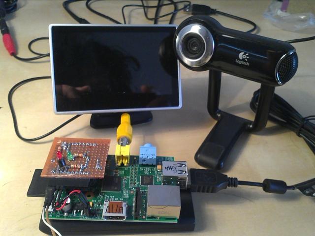 Raspberry Pi Time-lapse camera. Demonstration set