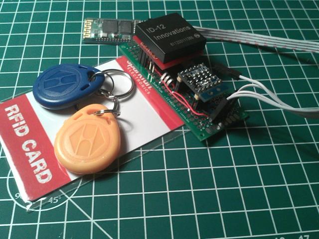 RFID wireless (Battery not shown)