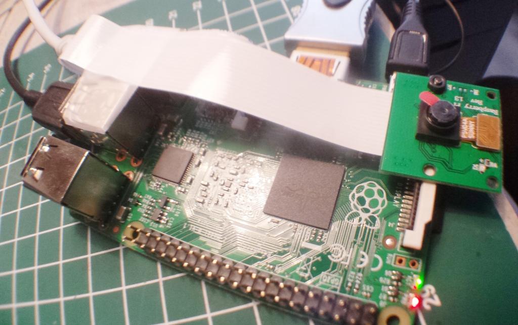 Quick and Dirty Raspberry Pi Spy Cam